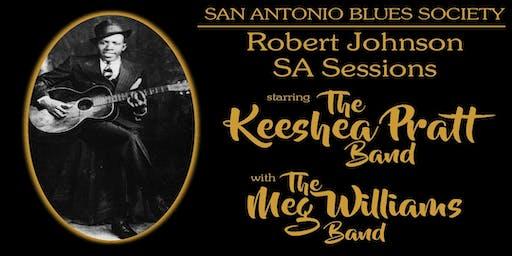 Robert Johnson SA Sessions starring The Keeshea Pratt Band