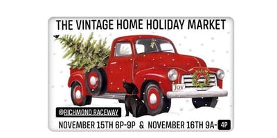 The Vintage Home Holiday Market *Early Bird VIP Friday Night Ticket