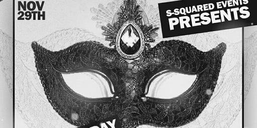 """Black Friday"" All-Black Masquerade Party"