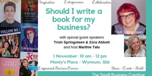 Should I write a book for my business?