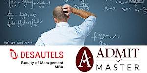 Free GMAT Math Refresher Class (Montreal)