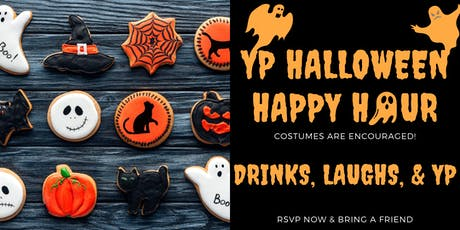YP Halloween Happy Hour Fundraiser tickets