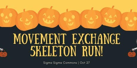 Movement Exchange Skeleton Run 5k tickets