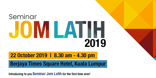 HRDF Seminar Jom Latih 2019 - Accelerating Learning