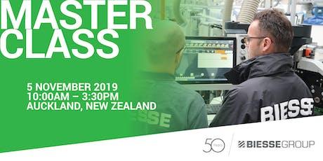 Biesse Auckland MasterClass tickets