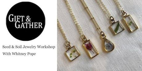 Botanical Jewelry Making Workshop tickets