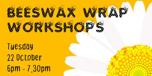 Beeswax Wrap Workshop 22 October
