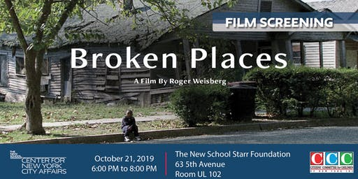 Film Screening of 'Broken Places'