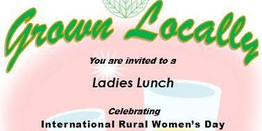 'Grown Locally'. A Locavore Luncheon by QRRRWN