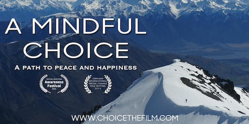 A Mindful Choice - Encore Screening - Tue 19th November - Melbourne