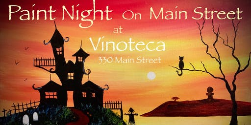 Paint Night on Main Street at Vinoteca
