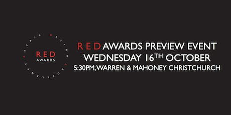 2019 Red Awards Preview Evening Christchurch tickets