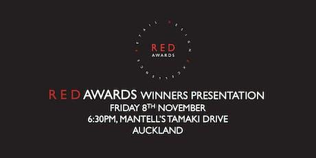 2019 RED Awards - Winners presentation  tickets