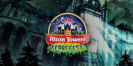 Alton Towers Scarefest Trip! tickets