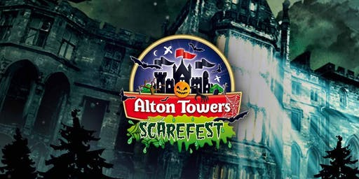 Alton Towers Scarefest Trip!
