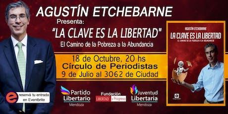 Agustín Etchebarne en Mendoza entradas