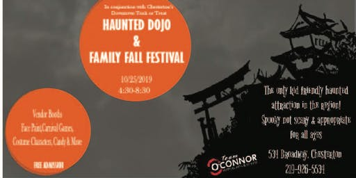 Chesterton Family Fall Festival & Haunted Dojo