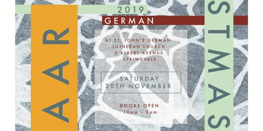 German Christmas Bazaar 2019