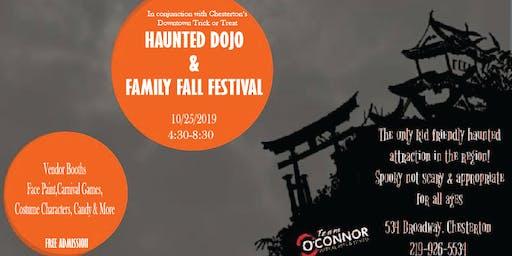 Team O'Connor Presents Family Fall Festival & Haunted Dojo