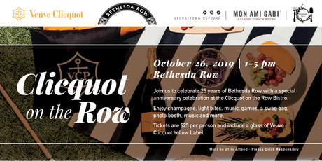 Clicquot on the Row: 25th Anniversary Celebration tickets