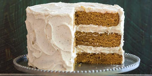 Cake Decorating at Bowman's--Pumpkin Spice Cake