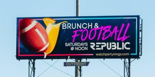 Ladies Love Football Too | Brunch + Football Every Saturday!