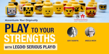 Play to Your STRENGTHS with LEGO® SERIOUS PLAY® tickets