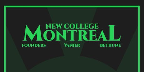 New College Takes Montreal 2019 tickets