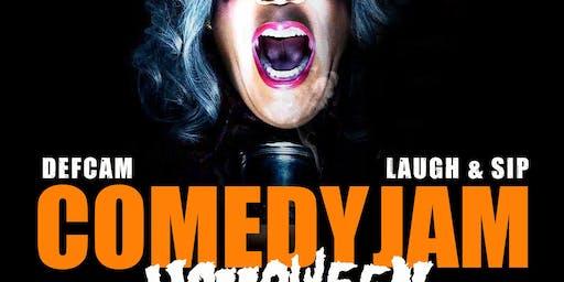Def Cam Comedy Jam : Laugh & Sip (Halloween)