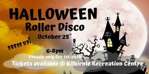 Kids Halloween Roller Disco