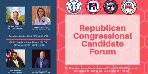 Republican Congressional Candidate Forum