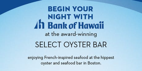 Bank of Hawaii - Oysters and Mai Tais tickets