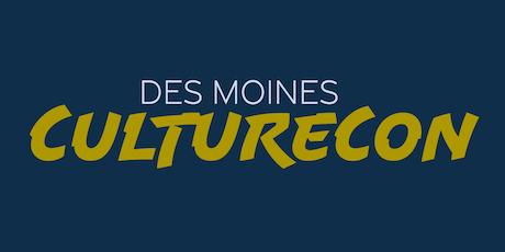 Des Moines CultureCon tickets