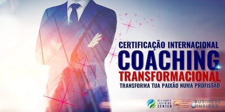 Certificação Internacional em Coaching Transformacional 2019 ingressos