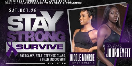 Stay Strong & Survive  Boot-Camp tickets