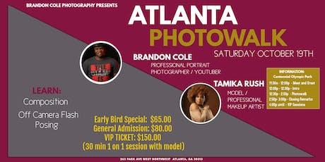 Atlanta Photowalk with Portrait Photographer Brandon Cole tickets