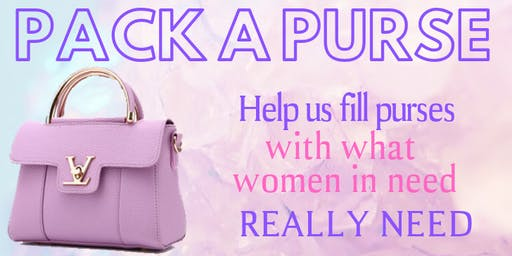 Pack a Purse for Domestic Violence