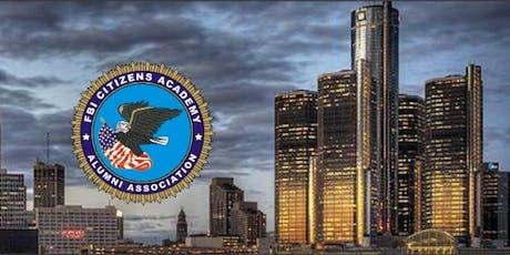 FBI Detroit Citizens Academy Alumni Association tickets