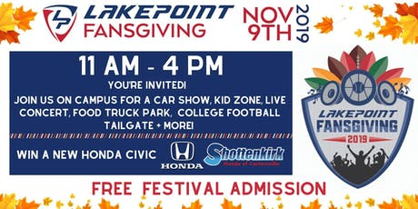 LakePoint Fansgiving Fall Festival and Car Show tickets