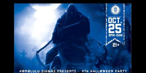 Honolulu Sigmas  6th Annual Halloween Party