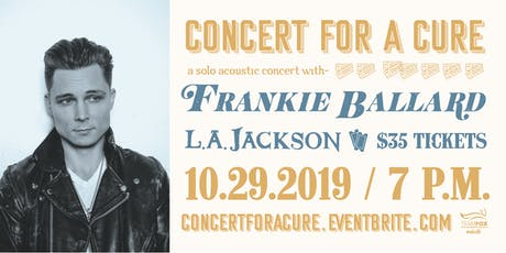 Concert for a Cure tickets