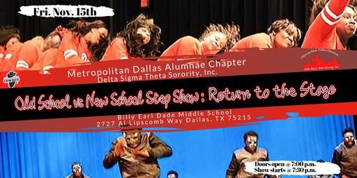 Old School-vs-New School Step Show/ Stroll Off Return to the Stage