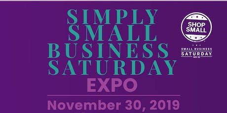 Simply Small Business Saturday Expo  tickets