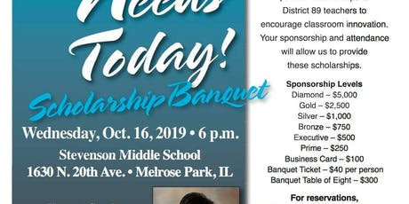 SD89 Education Foundation Scholarship Banquet tickets