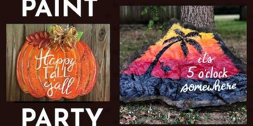Fall 5 o'clock Paint Party