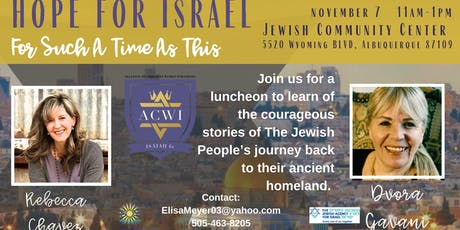 Hope For Israel: For Such A Time As This tickets