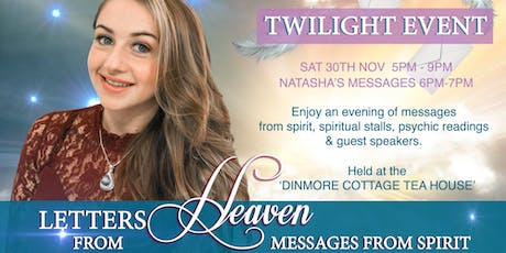 Letters from Heaven Twilight Event with Spirit tickets
