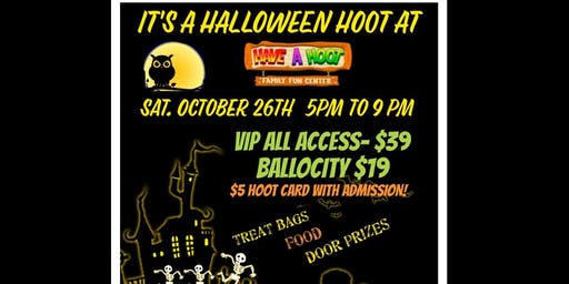 HALLOWEEN HOOT PARTY