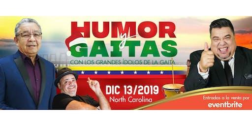Humor y Gaitas 2019 - Neguito Borjas y El Colosal Ricardo Cepeda