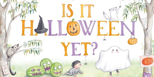Book Launch: 'Is It Halloween Yet?' by Susannah Chambers & Tamsin Ainslie